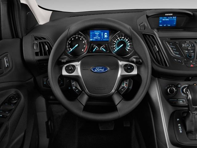 2017 Ford Escape Fwd 4 Door S Steering Wheel