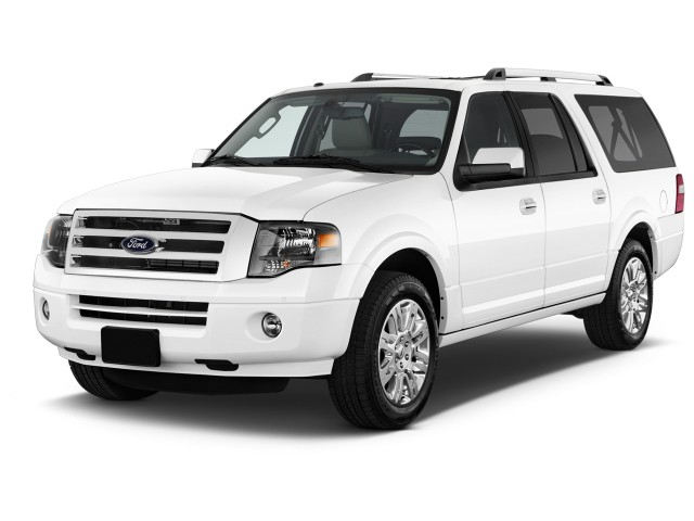 2014 Ford Expedition EL 2WD 4-door Limited Angular Front Exterior View