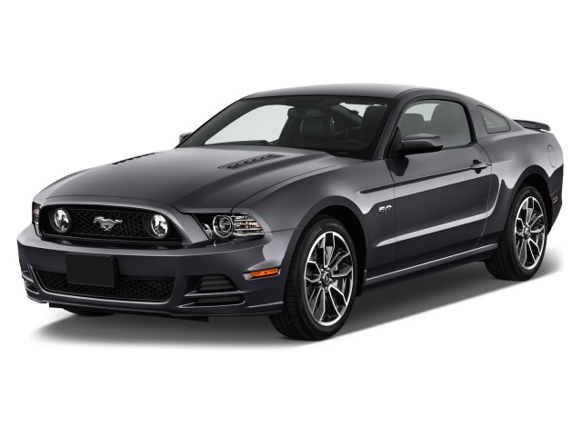 2014 Ford Mustang 2-door Coupe GT Premium Angular Front Exterior View