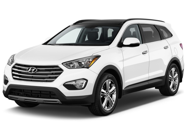 2014 Hyundai Santa Fe FWD 4-door Limited *Ltd Avail* Angular Front Exterior View