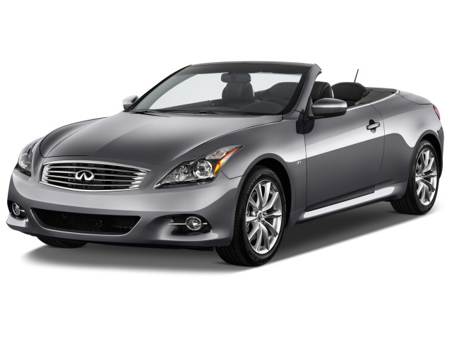 2014 Infiniti Q60 Convertible Pictures Photos Gallery