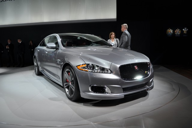 2014 Jaguar XJR Live Photos