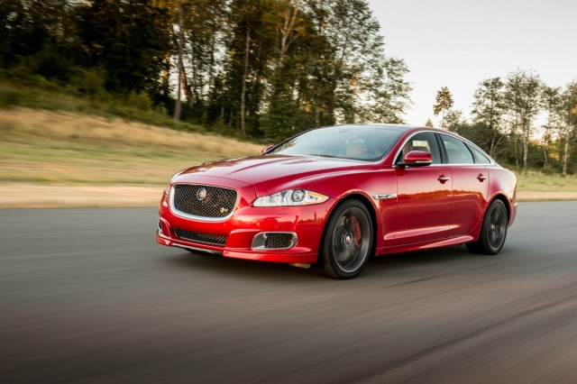 2014 Jaguar XJR  -  First Drive  -  August 2013  (closed course)