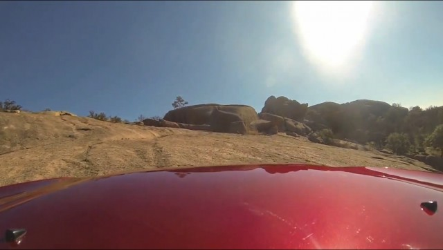 2014 Jeep Cherokee: frame capture from off-roading video