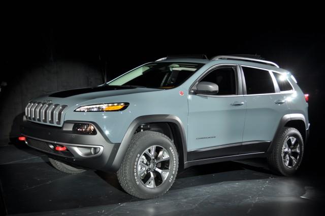 2014 Jeep Cherokee Live Photos