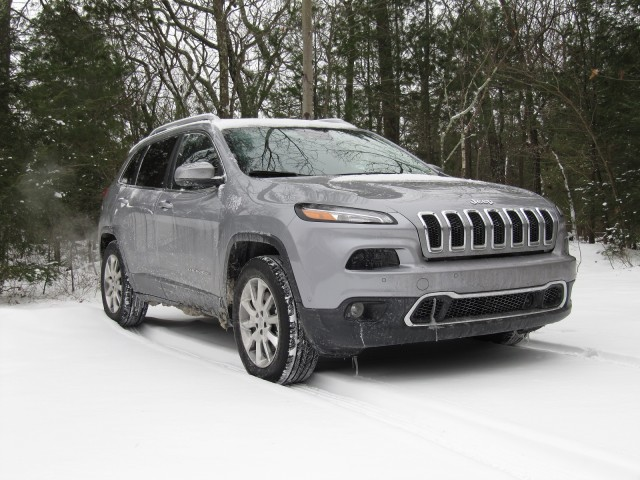 2014 Jeep Cherokee Limited 4x4, Catskill Mountains, NY, Jan 2014