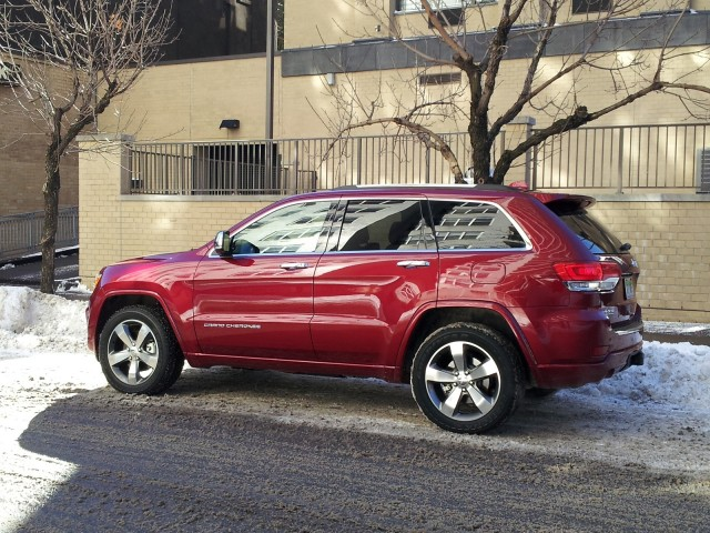 2014 Jeep Grand Cherokee Ecodiesel Diesel Suv Fuel Economy Tested