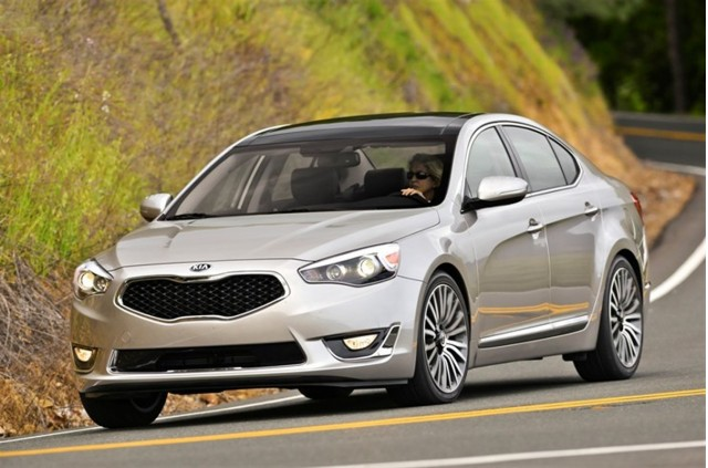 2014 kia cadenza review ratings specs prices and photos the car connection. Black Bedroom Furniture Sets. Home Design Ideas