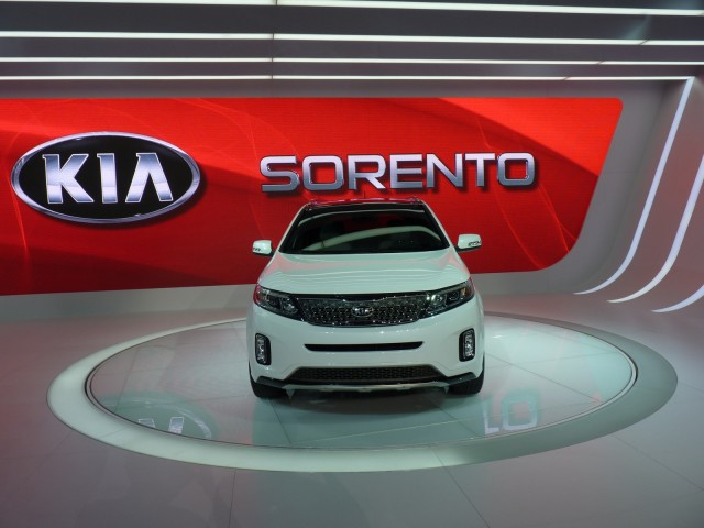 2014 Kia Sorento  -  2012 Los Angeles Auto Show