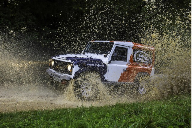 2014 Land Rover Defender Challenge by Bowler