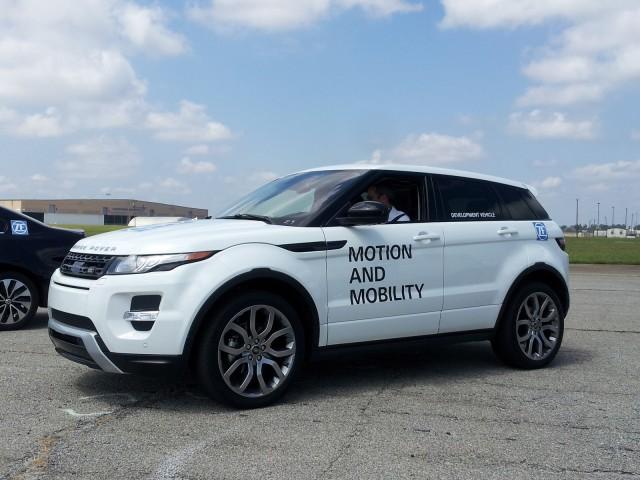 2014 Range Rover Evoque, ZF Drive Day, Jul 2013