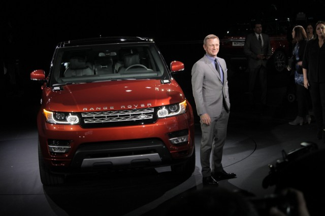 2014 Land Rover Range Rover Sport, private preview event in NYC