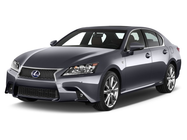 2014 Lexus GS 350 4-door Sedan RWD Angular Front Exterior View