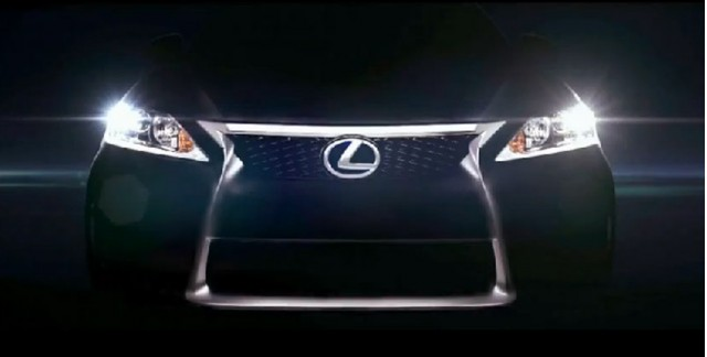 2014 Lexus IS teaser