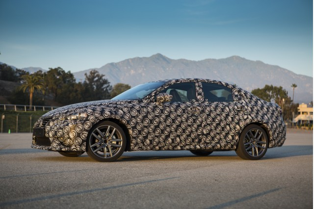 2014 Lexus IS to be revealed at 2013 Detroit Auto Show