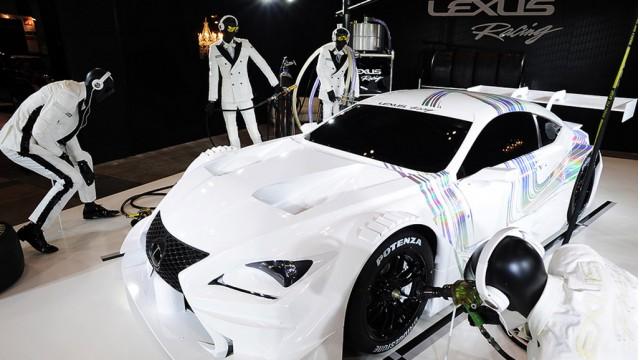2014 Lexus RC F GT500 Super GT race car