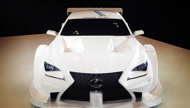 2014 Lexus RC F GT500 Super GT race car