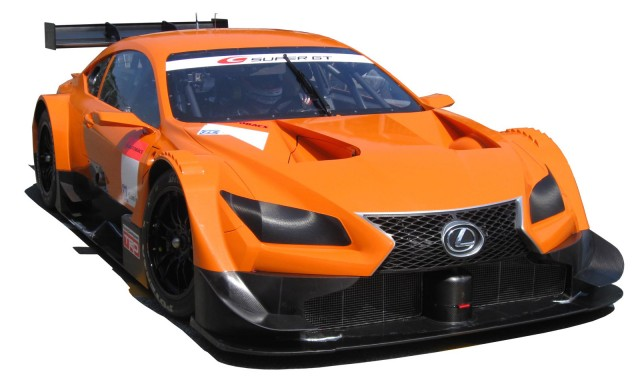 2014 Lexus RC GT500 Super GT race car