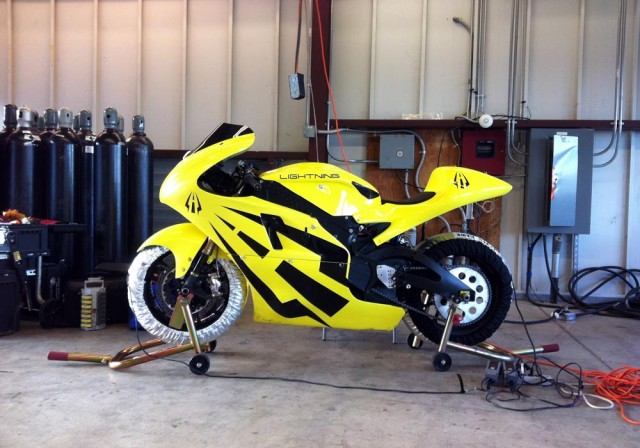 2014 Lightning electric motorcycle
