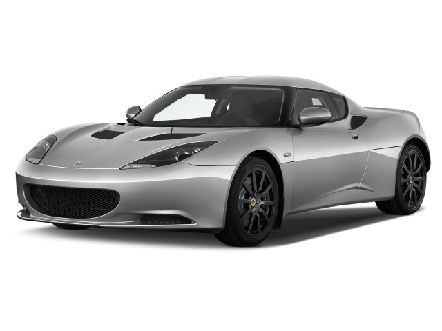 2014 Lotus Evora 2-door Coupe 2+2 Angular Front Exterior View
