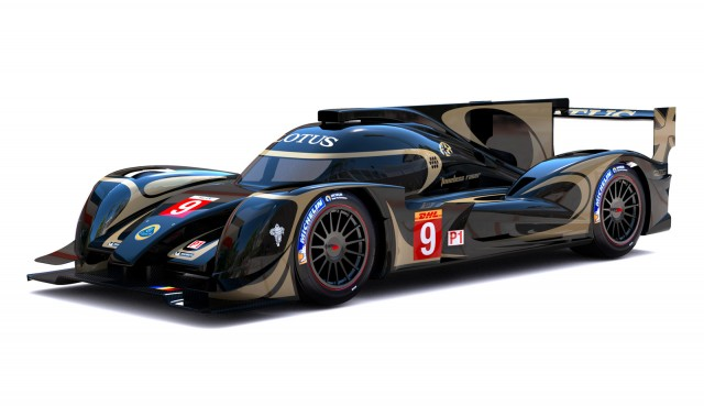 2014 Lotus LMP1 prototype race car