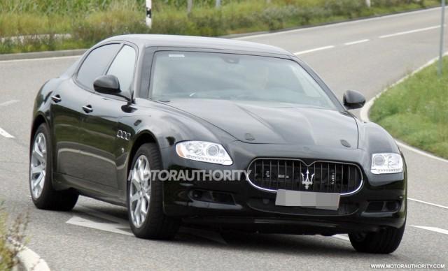 2014 Maserati Quattroporte test-mule spy shots