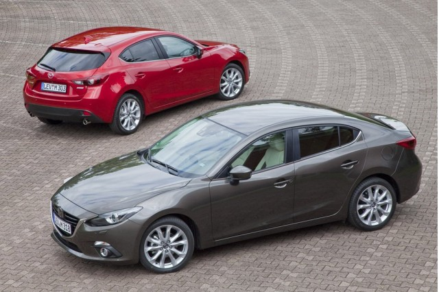 2014 Mazda 3 sedan leaked