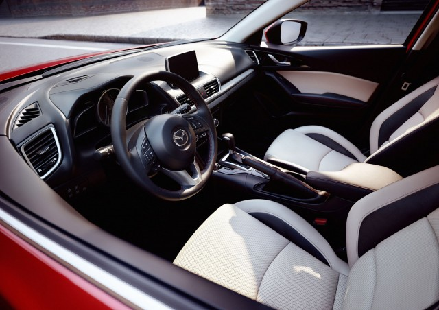 2014 Mazda 3 Sedan Official Details Photos And Video