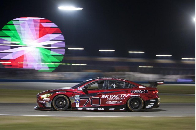 2014 Mazda Mazda6 SKYACTIV-D diesel race car at Daytona