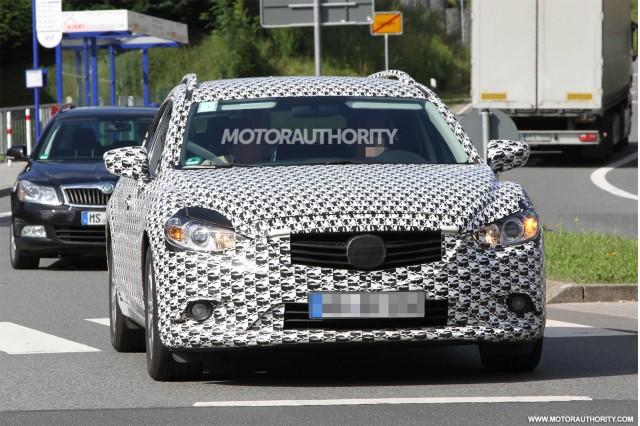 2014 Mazda Mazda6 Wagon spy shots