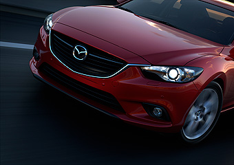 2014 Mazda6 world premiere  -  2012 Moscow Motor Show