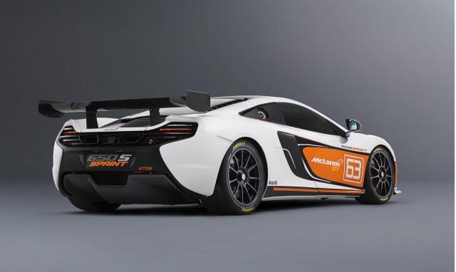 Elegant 2014 McLaren 650S Sprint