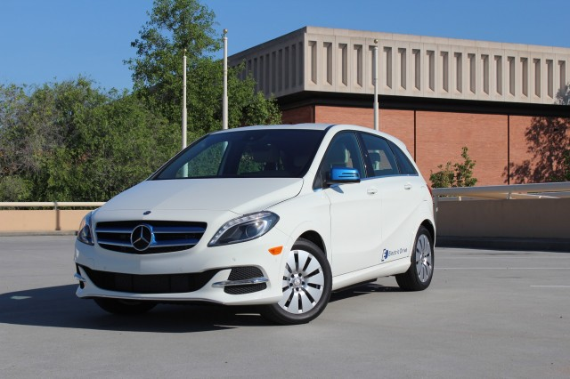 2014 Mercedes-Benz B-Class Electric Drive  -  First Drive, May 2014