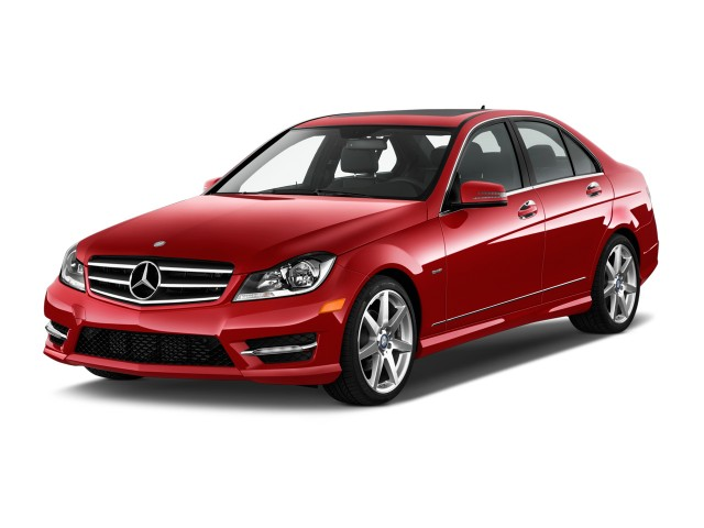 2014 Mercedes-Benz C Class 4-door Sedan C250 Sport RWD Angular Front Exterior View