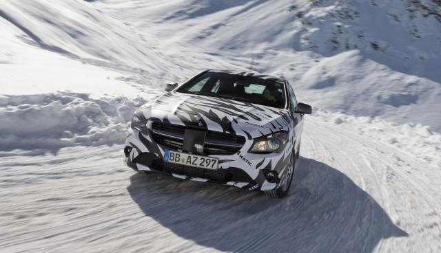 2014 Mercedes-Benz CLA Class teaser
