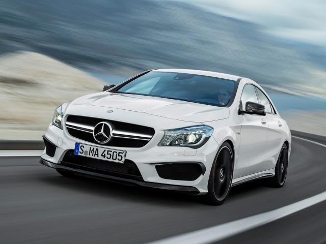 2014 Mercedes-Benz CLA45 AMG leaked photos