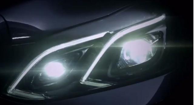 2014 Mercedes-Benz E Class teaser