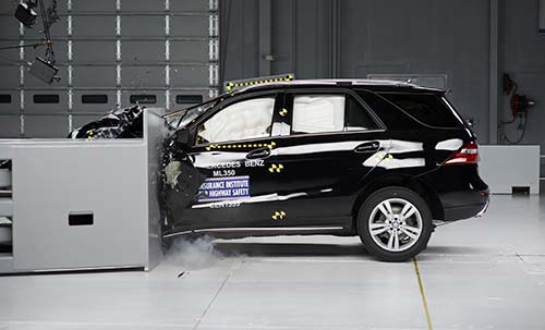 2014 Mercedes M-Class Is A Top Safety Pick+