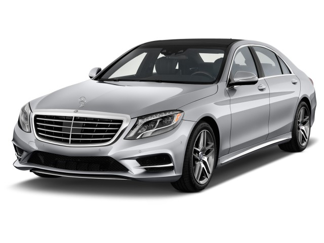 2014 Mercedes-Benz S Class 4-door Sedan S550 RWD Angular Front Exterior View