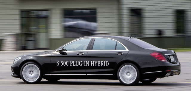 2014 Mercedes-Benz S500 Plug-In Hybrid