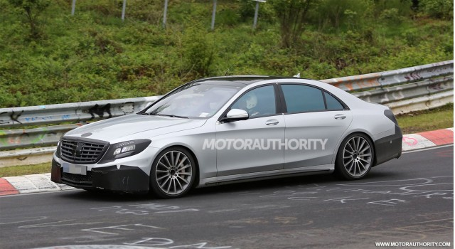 2014 Mercedes-Benz S63 AMG spy shots