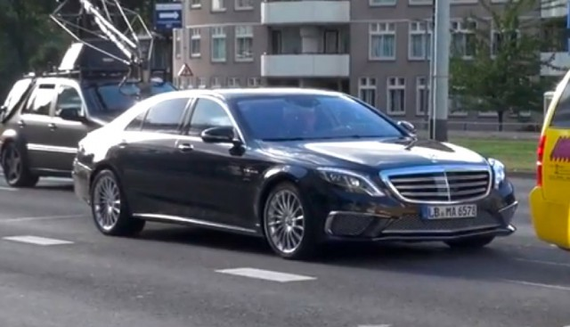 2014 Mercedes-Benz S65 AMG spotted during photo shoot