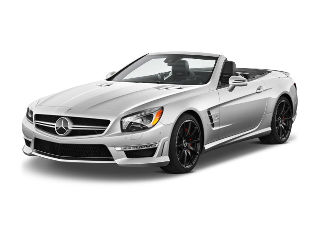 2014 Mercedes-Benz SL Class 2-door Roadster SL63 AMG Angular Front Exterior View