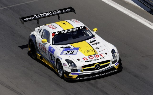 2014 Mercedes-Benz SLS AMG GT3 race car