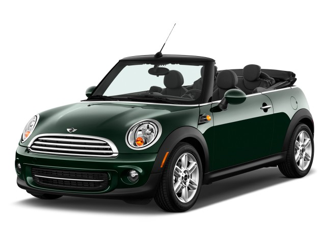 2014 MINI Cooper Convertible 2-door Angular Front Exterior View