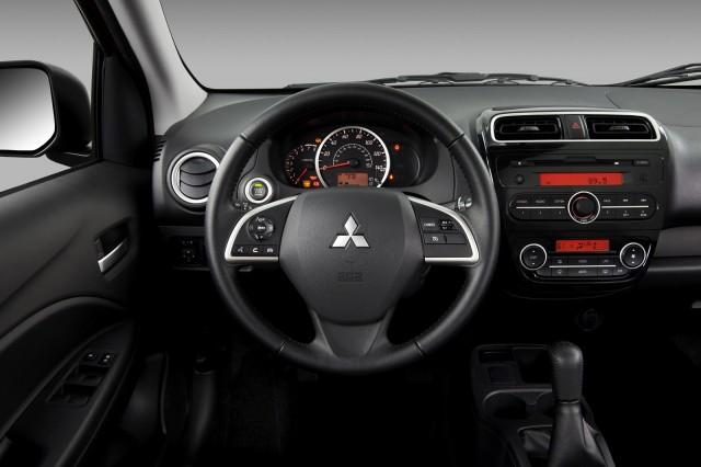 2014 Mitsubishi Mirage: 40-MPG Minicar Gas Mileage Test