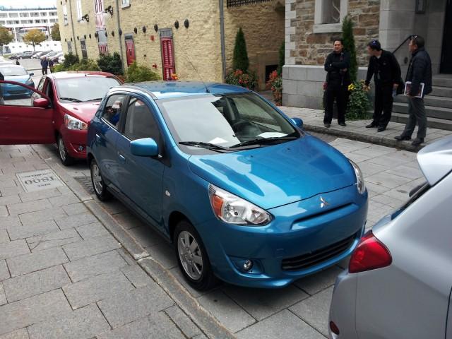 2014 Mitsubishi Mirage, Quebec City, Sep 2013