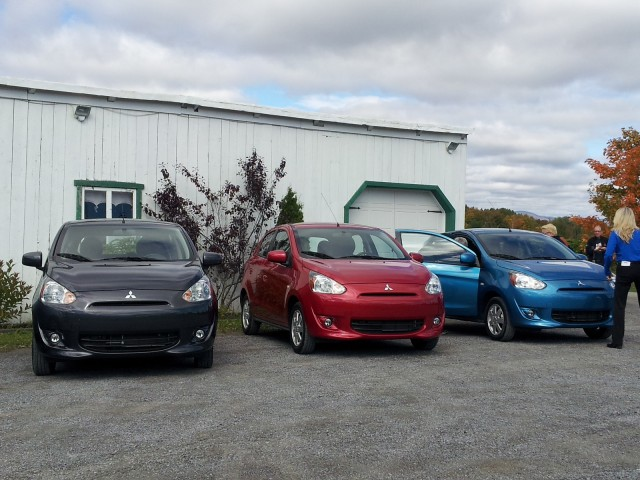 2014 Mitsubishi Mirage, Qubec City, Sep 2013