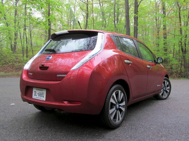 2014 Nissan Leaf, Bear Mountain, May 2014