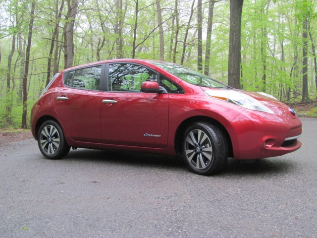 2014 Nissan Leaf Bear Mountain May 2014